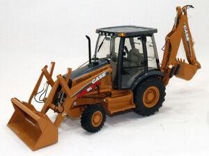 Custom 1/16 Ertl Precision Construction Case 580 Super M Tractor Backhoe Loader