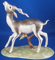 Nymphenburg Porcelain Male Blackbuck Antelope Figure Figurine Porzellan Figur