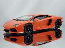 Welly FX Lamborghini Aventador LP700-4 Orange Diecast Model Car 1:18