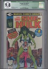 Savage She-Hulk #1 CGC 9.8 1980 Marvel Comic: New Frame