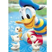 Full Drill 5D Diamond Painting Donald Duck Embroidery Cross Craft Art Home Decor
