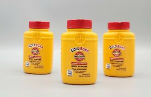 Lot of 3 GOLD BOND Medicated Original Strength Body Powder Travel Size 1 Oz Baby