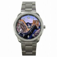 Great Wall of China Wonder of the World Souvenir Stainless Steel Sport Watch New