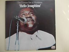 "Fats Domino - Hello Josephine ""Live At Montreux"" - Great item / near mint condit"