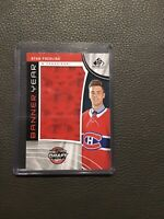 2019-29 SP Game Used Banner Year Ryan Poehling BD17-RP