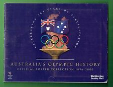 #T15.  2000 SYDNEY OLYMPIC ADVERTISER / SUNDAY MAIL  NEWSPAPER POSTER COLLECTION