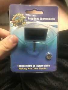 Underwater Treasures 1xlcd Digital Aquarium Thermometer GOES INSIDE THE TANK