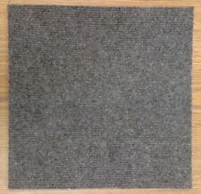 Carpet Tiles Peel and Stick 12 Square Feet Charcoal Gray Self Adhesive Squares
