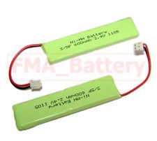 2Pcs Cordless Phone iDect X3i Battery Ni-MH 2.4V 600mAh 2SN-3/5F60H-H-JP2 UK