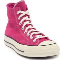 Converse Men's Chuck 70 Suede High Top Sneakers, Pink/Black/Egret