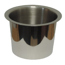 More details for 16 x contacto stainless steel 18/10 round bain marie pot / open edge bowl