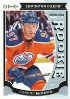 2015-16 O-Pee-Chee Update #U11 Connor McDavid RC Edmonton Oilers