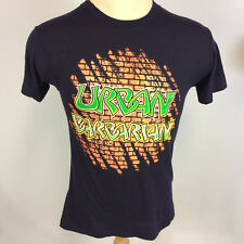 Rare Vintage 70s Ched Anvil Tag Urban Barbarian Graffiti Comic T Shirt Surf Punk