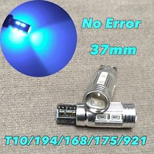 Parking Light T10 T15 921 175 194 168 Ice Blue Cabus 10 SMD LED W1 J