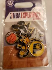 Disney Parks Authentic Nba Experience Mickey Mouse Pacers Pin