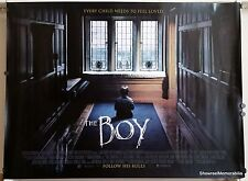 THE BOY 2016 Original double sided cinema quad horror movie poster Lauren Cohan
