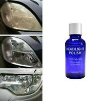 Car Auto 9H Hardness Headlight Lens Restorer Repair Liquid Polish Cleaner UK