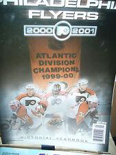 Philadelphia Flyers 2000 / 2001 Pictorial Yearbook