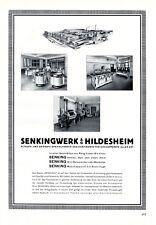 Cooking appliances Senking Hildesheim XL 1929 ad German advertising +