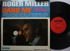 Country Lp Roger Miller Dang Me On Smash