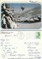 1987 VALMOREL FRANCE COLOUR POSTCARD