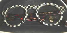 MACKENZIE CHILDS COURTLY CHECK THISTLE ROUND READING GLASSES CHEATERS~2.5~NEW