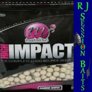 Mainline Diamond Whites 15mm Session Pack of 25 Boilies