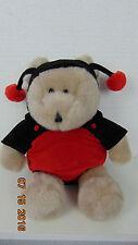 STARBUCKS Coffee Bearista Lady Bug Ladybug Costume Bear 2001 14th Edition
