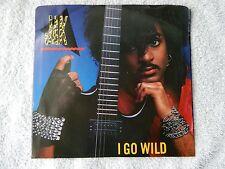 "JAK ""I Go Wild/I Go Wild (Instrumental)"" Picture Sleeve 45 RPM Record"