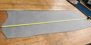 GREY Soft Butt Split Leather Panel 3.0mm Thickness LOT 2230