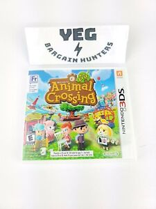 Animal Crossing: New Leaf (Nintendo 3DS, 2013) Complete Tested Canadian Seller