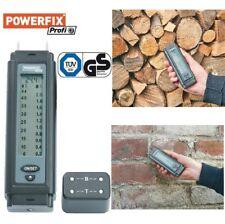 Holzfeuchtemessgerät Feuchtigkeit Messgerät Holz Beton Putz Messer Powerfix Neu