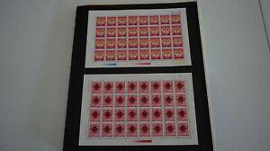 China PRC Sc# 2378-79 1992-1 Year of Monkey Stamps Full Sheet MNH