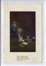(Sd513-100) Best Love, Toys, Child, 1910, Used G-VG