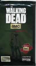 Walking Dead Season 4 Part 1 Hot Pack Containing A Prop , Relic Or Wardrobe Card