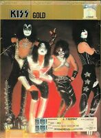KISS GOLD 2004 MALAYSIA DELUXE SOUND & VISION DIGIPAK 2 CD + DVD FREE SHIPMENT