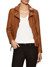 NWOT Muubaa Leather Biker Jacket Bomber Motorcycle  US 2