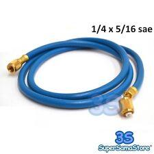 3S FRUSTA TUBO FLESSIBILE RIDOTTO 1/4 x 5/16 sae GAS REFRIGERANTE R410A - NUOVO