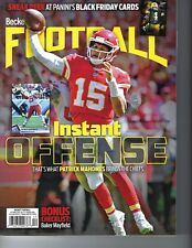 Patrick Mahomes Kansas City Chiefs Beckett Sports Card Football magazine 2018