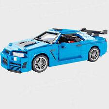 NISSAN Skyline R34 GT SUPER SPORT Car MOC Building Block BRICK STATIC vehicle