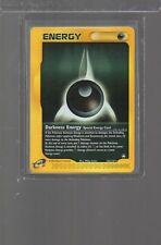 2003 Aquapolis 142/147 Darkness Energy Rare Pokemon
