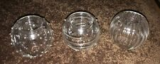 Partylite Tealight Older Globe Candle Holders 3