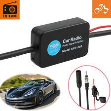 12VUniversal FM-Radio Antennenverstärker Antenne Signal Verstärker KFZ Autoradio