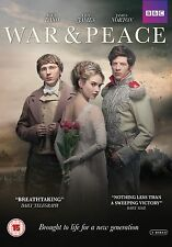 WAR AND PEACE DVD - BBC DRAMA 2016 - NEW / SEALED DVD - UK STOCK