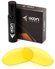 Polarized IKON Replacement Lenses For Oakley Twenty XX 2012 Sunglasses HD Yellow
