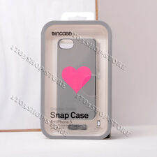 Incase Graphic iPhone SE iPhone 5s iPhone 5 Snap Case - Silver Chrome/Pink Heart