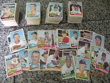 (450) 1965 Topps Baseball Cards--Reduced