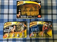 VTG * NIB * Star Wars Action Masters 14 Figure Lot Die Cast Set Kenner 1994 NEW!