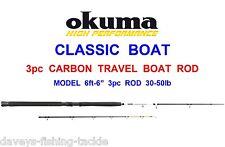 Okuma Classic Boat 6'6'' 198cm 30-50lbs - 3sec Rod