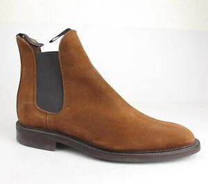 Mint Alfred Sargent 4 Sid Mashburn Snuff Suede Chelsea Boots 8.5 US